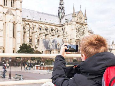 Barneferie i Paris