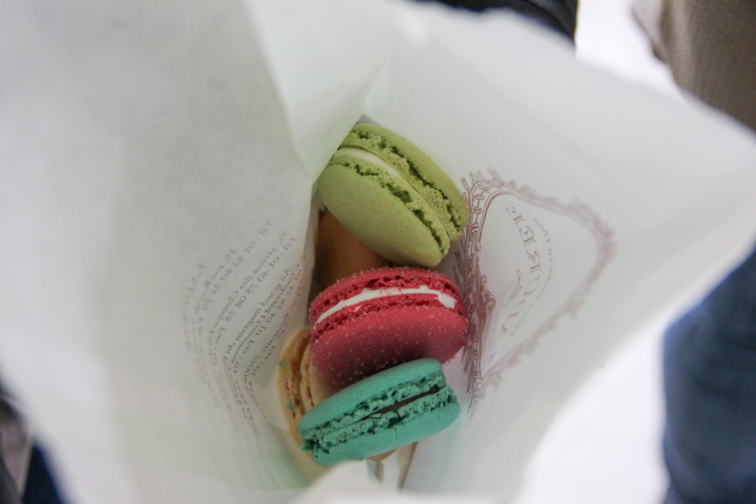Laduree makroner Paris