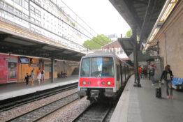 RER-tog Paris