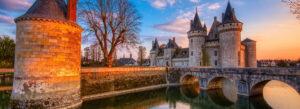 Loire dalen Frankrike Paris dagstur biltur