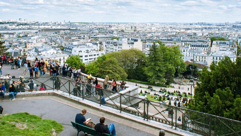 Paris Trondheim vaernes til Frankrike fly flybilletter