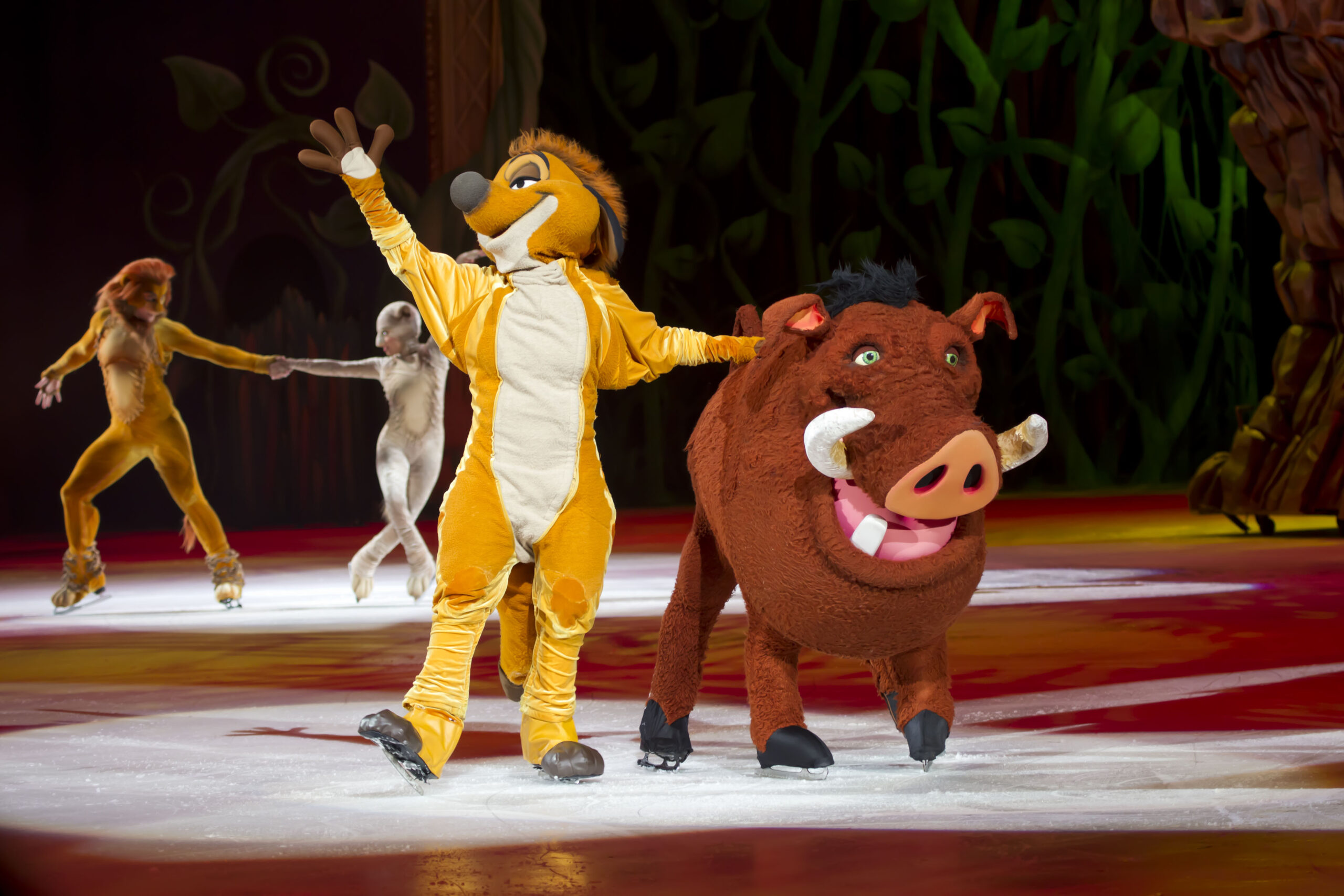 konsert teater Paris show saler Disney on Ice