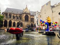 Centre Pompidou kunst museum Paris Frankrike