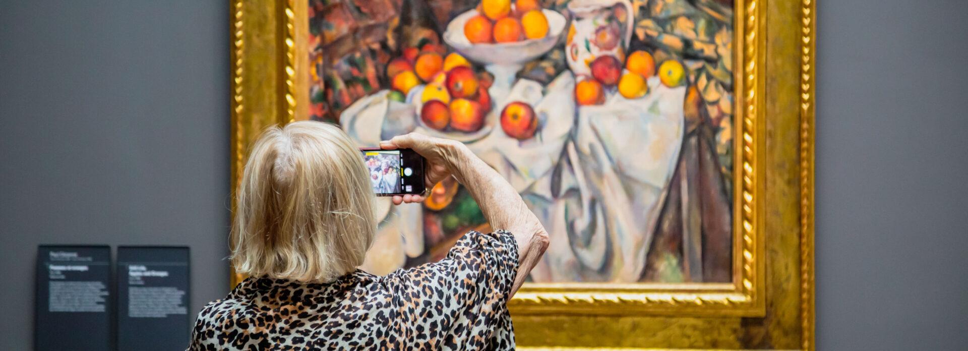 galleri gallerier malerier kunst museer Paris