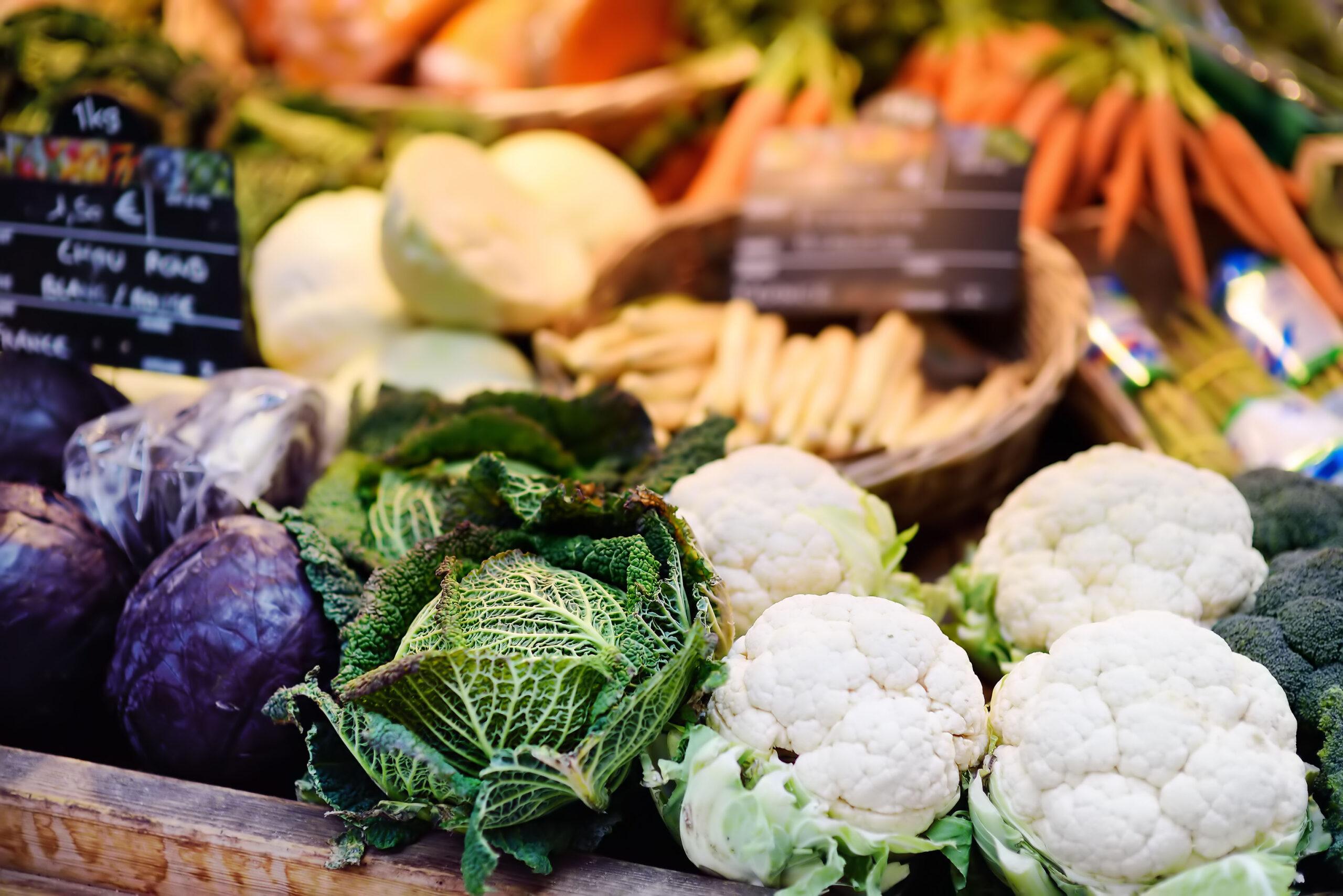Frukt gronnsaker marked Paris Frankrike