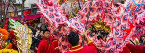 Kinesisk nyttårsfeiring i Paris