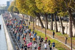 arrangementer show Paris Maraton