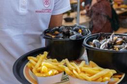 Moules frites fransk mat
