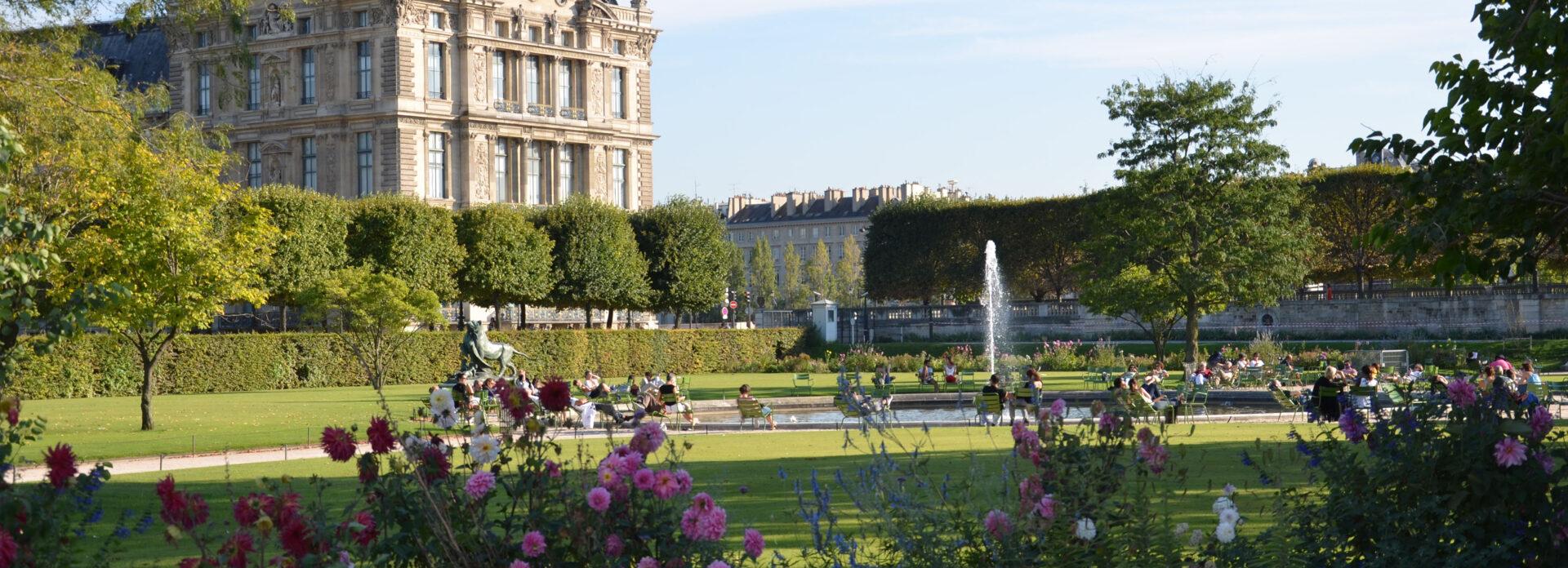Jardin de Tuileries-parken Paris Parc grontomrade