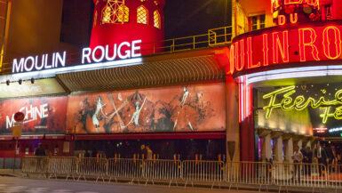 Moulin Rouge Paris teater kabaret cabaret show