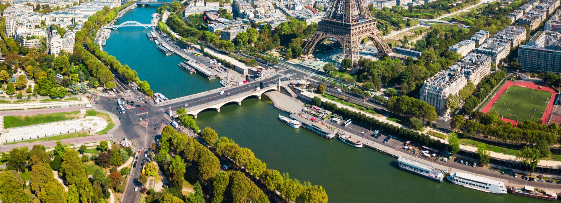 Seinen elv Paris informasjon lengde vann battur elvecruise cruise