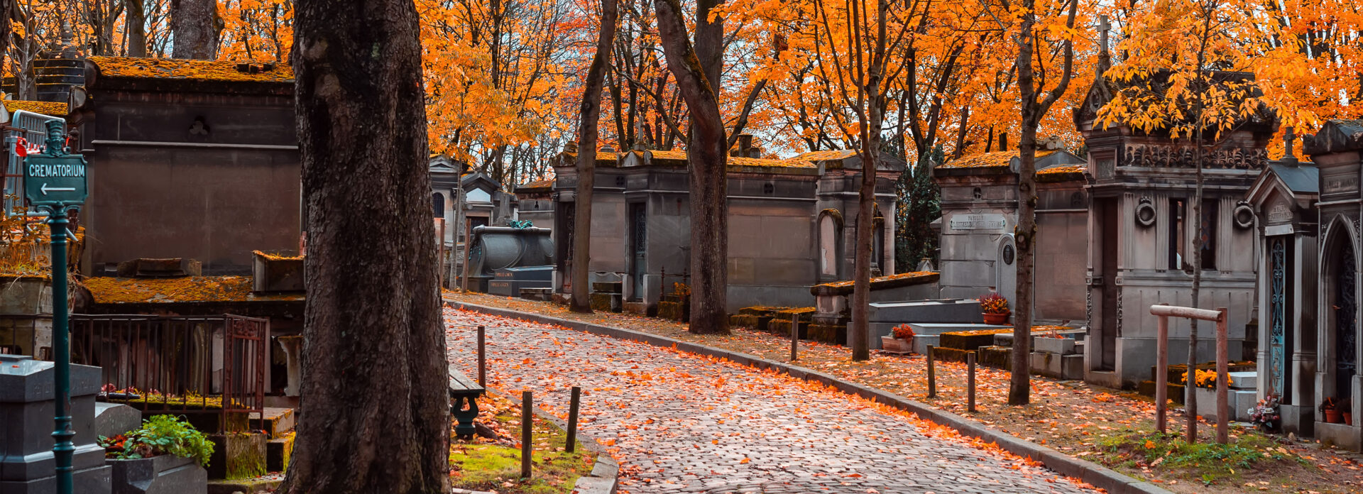 Kirkegarden Pere Lachaise Paris host