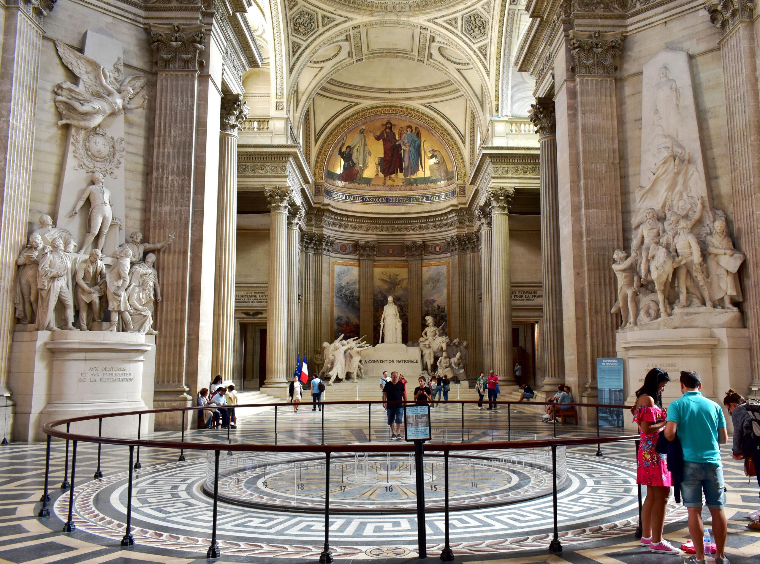 Pantheon Paris Frankrike bygning kjent severdighet