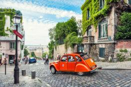 Montmartre Paris gater
