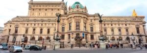 Opera de Paris Garnier Frankrike bygning utside