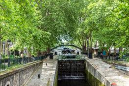 Canal Saint Martin Paris severdigheter