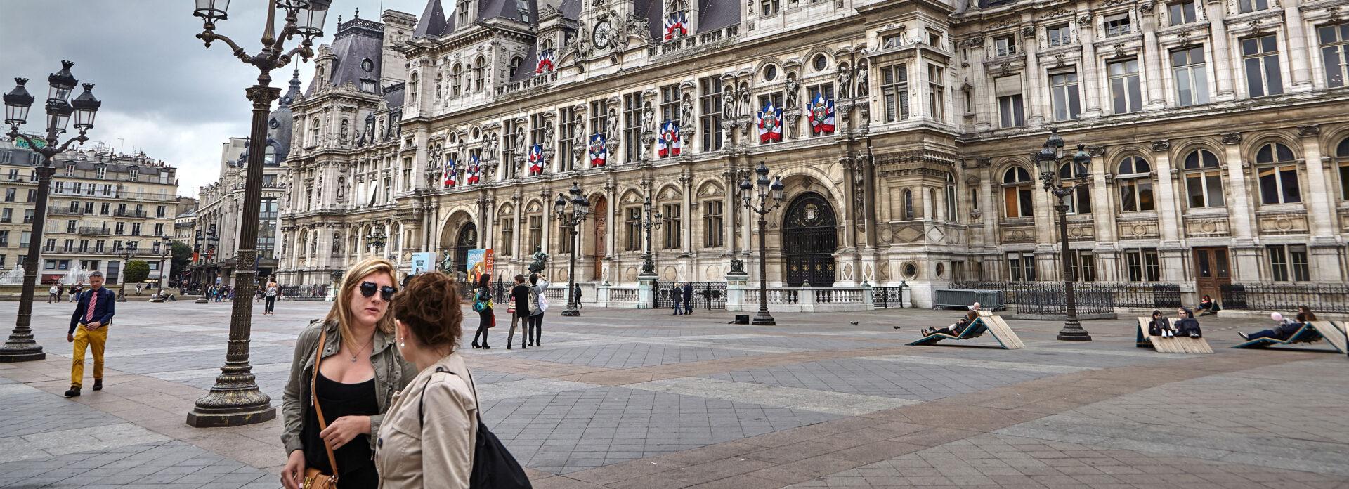 Hotel De Ville museum Paris