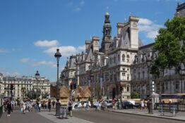 Hotel De Ville museum Paris bygg historisk