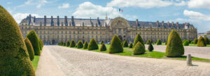 Hotel des Invalides Paris bygning gravplass Napoleon