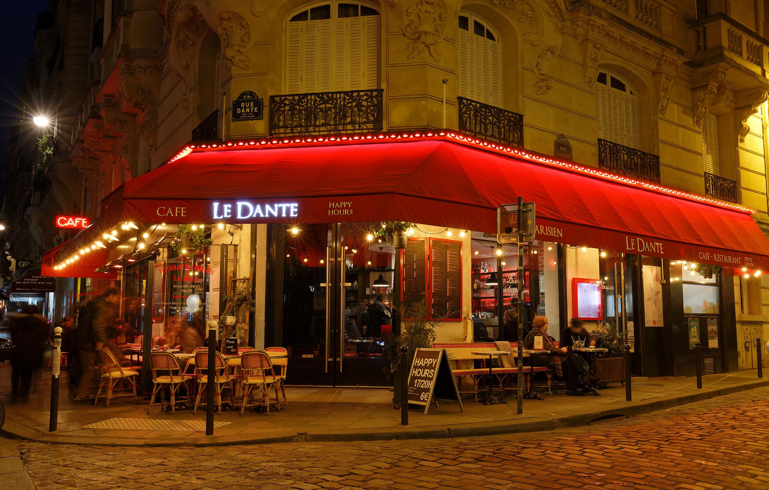Latinerkvarteret Paris restaurant Sorbonne universitet