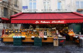 Le Marais Paris Frankrike bydel restauranter barer spisesteder