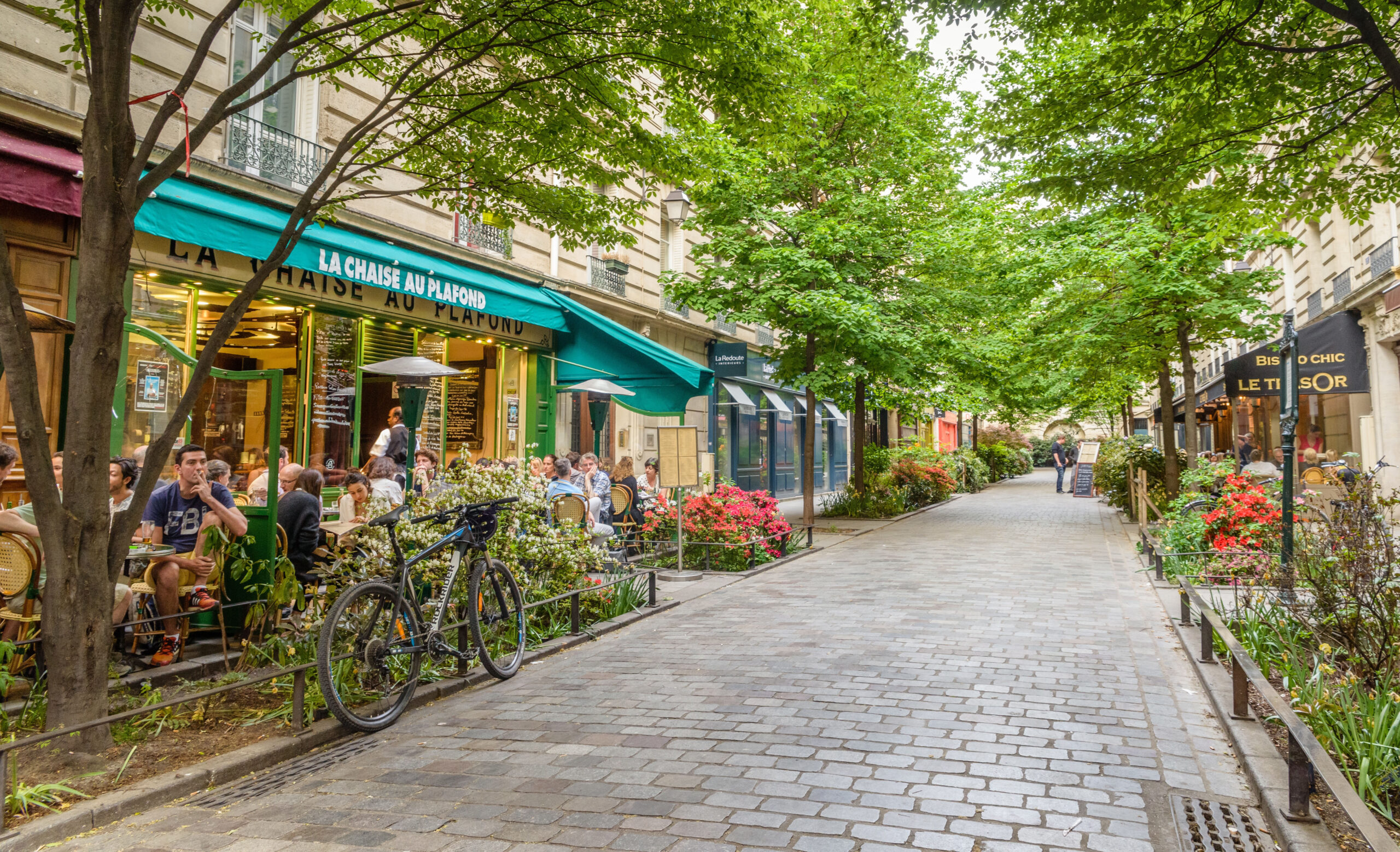 Le Marais distrikt Paris Frankrike severdigheter attraksjoner bydeler