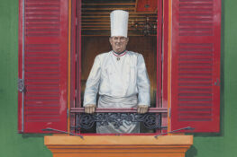 Paul Bocuse Lyon Bocuse D Or Frankrike Paris