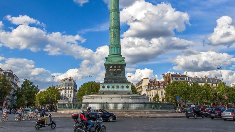 Place de la Bastille Paris plass