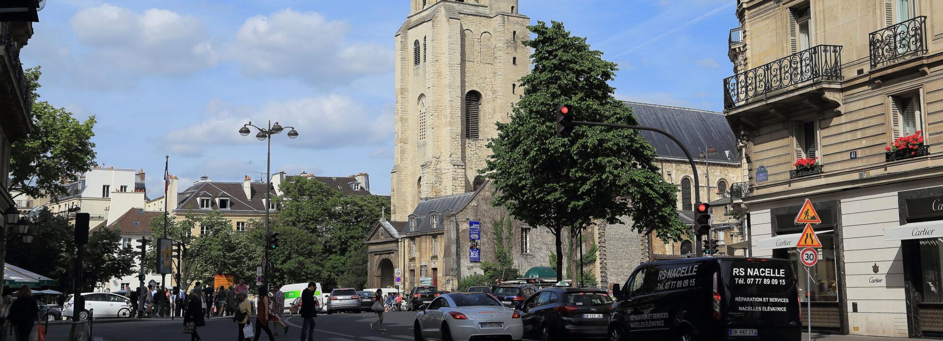 Saint Germain des Pres Paris kirke Frankrike