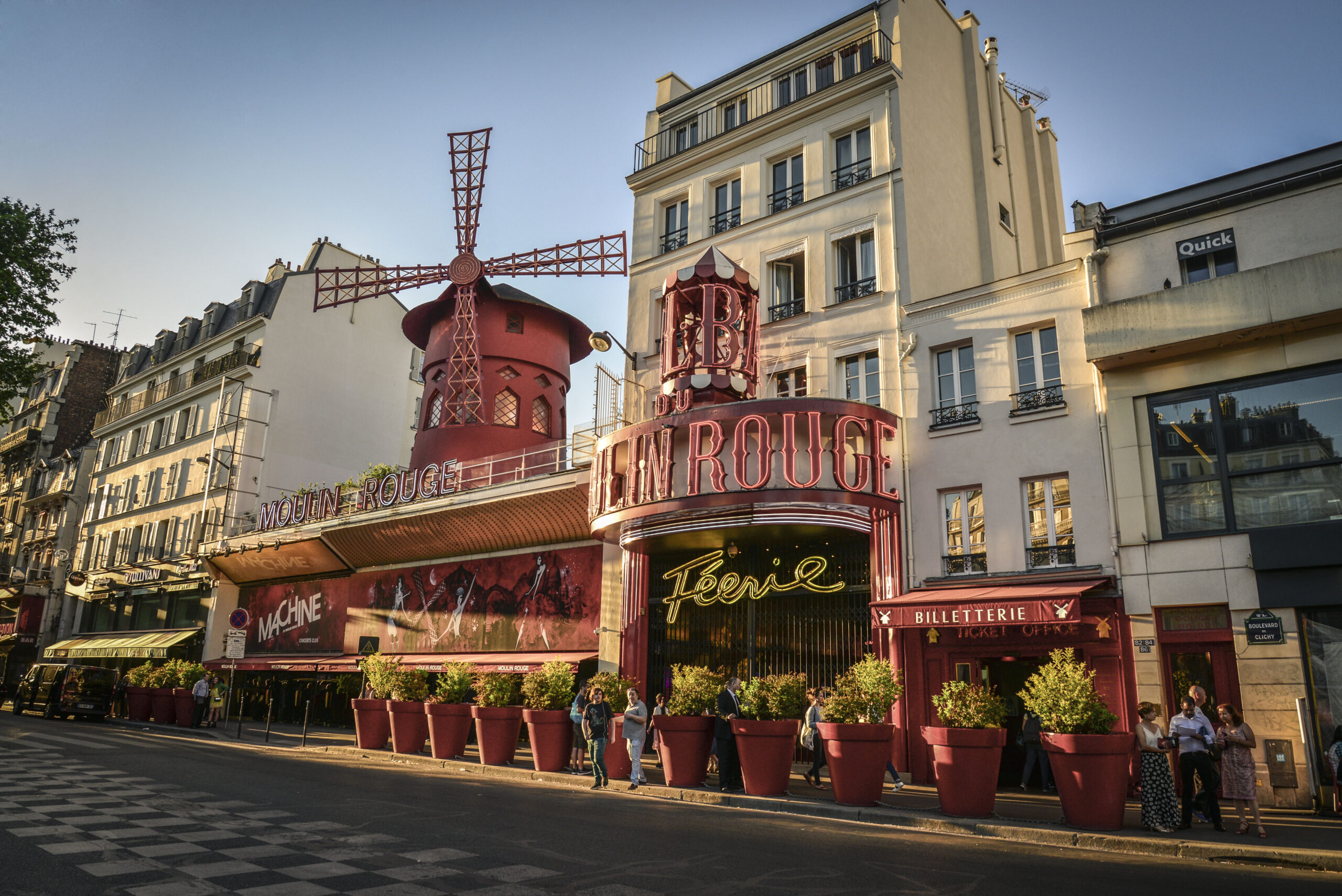 Moulin Rouge Paris teater konsert show cabaret Paris