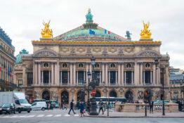 Opera Garnier Paris konsert teater arena