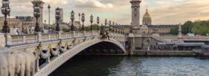 Pont Alexandre III Paris bro design arkitektur hvor ligger den