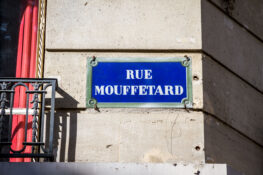 Rue Mouffetard matshopping bakeri konditori Paris