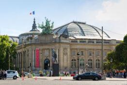Grand Palais Paris Frankrike glasstak museum