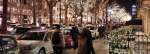 feire jul i Paris Frankrike nyttarsaften nyttarsfeiring