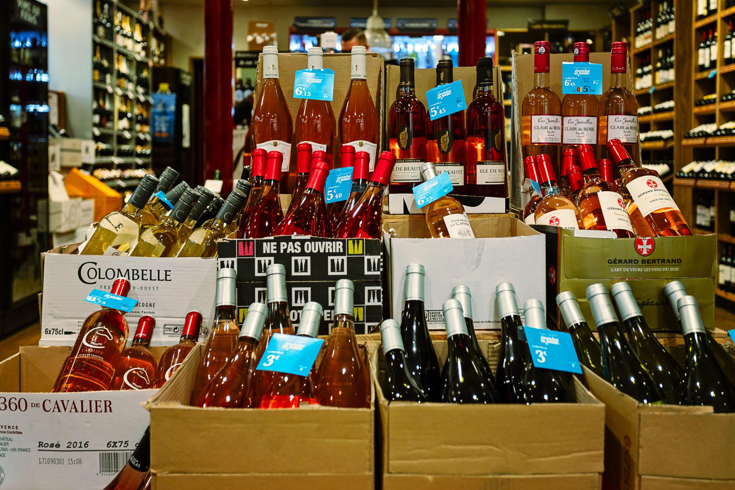 vinbutikk Paris rodvin vintips butikk forretning Frankrike