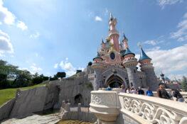 Eurodisney park Disneyworld Paris Frankrike ferie barn