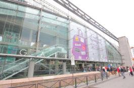 Gare Montparnasse togstasjon tog Paris Frankrike