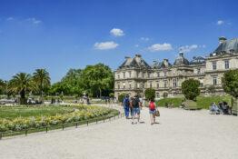 Jardin du Luxembourg Paris park Frankrike reisetips barneferie