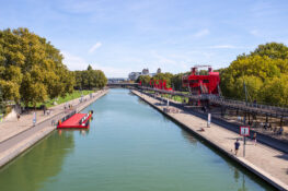 Parc de la Villette barn ferie Paris vitenskapspark museum
