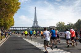 Paris maraton loype loypenett trase lengde Eiffeltarnet