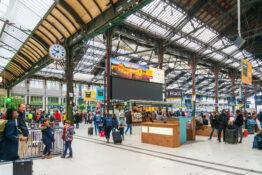 Gare de Lyon Paris til Nice tog stasjon togstasjon togtur