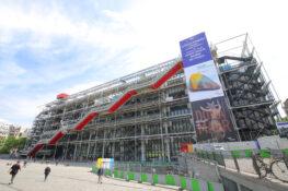 Pompidou Paris museum historie Frankrike