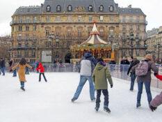 isbane Paris skoyter Hotel De Ville