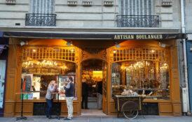 bakeri fransk stemning Paris konditori