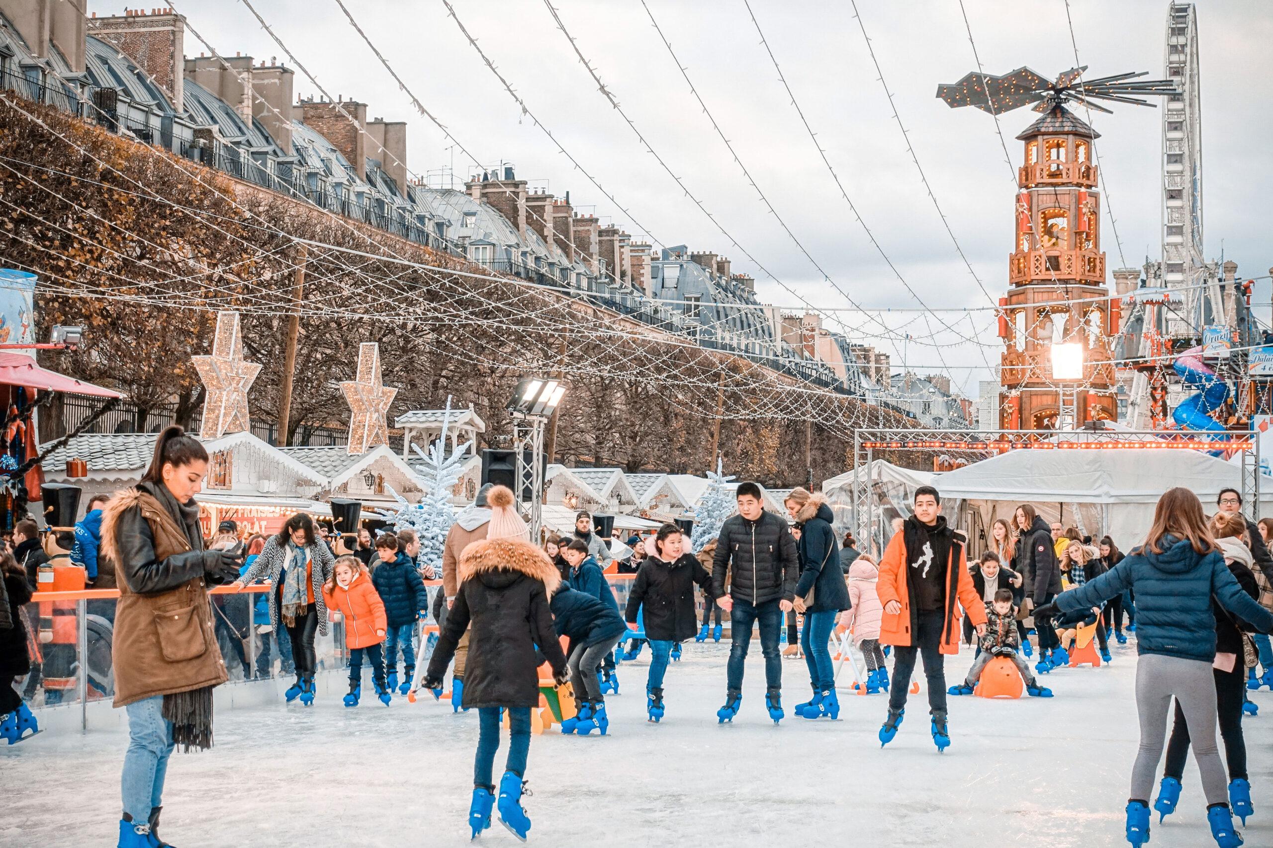 julemarked julefeiring Paris Frankrike jul hoytid