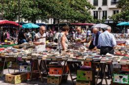 loppemarked bruktvarer marked Paris Frankrike priser billig shopping
