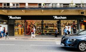 supermarked Paris butikk matbutikk Auchan